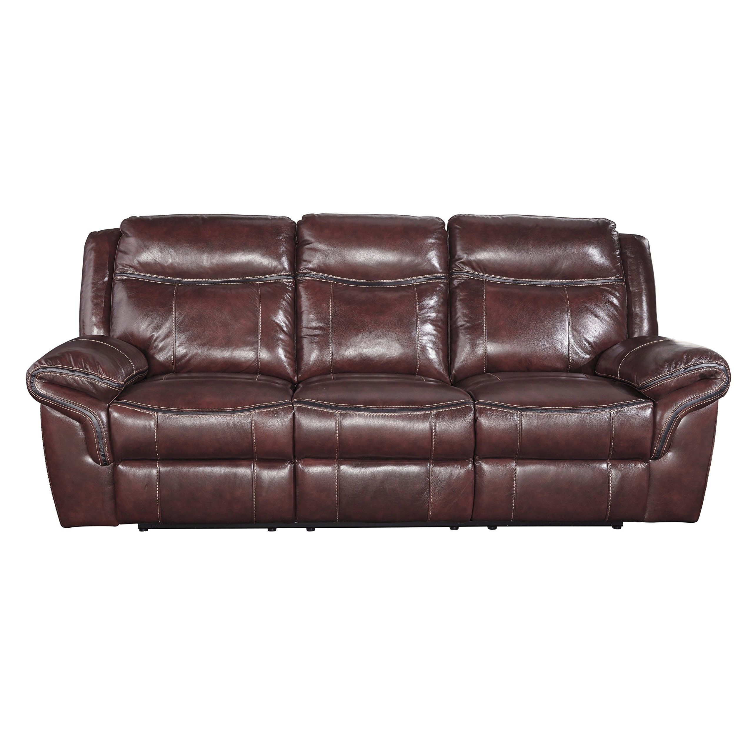reclining furniture leather interior and rocker sofa loveseat ashley recliner