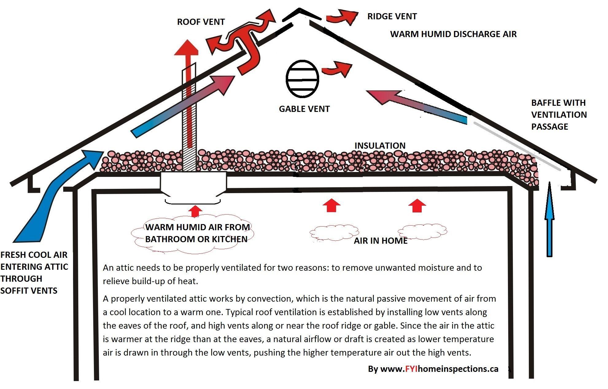Attic Ventilation Options Google Search Attic Ventilation Ridge Vent Ventilation
