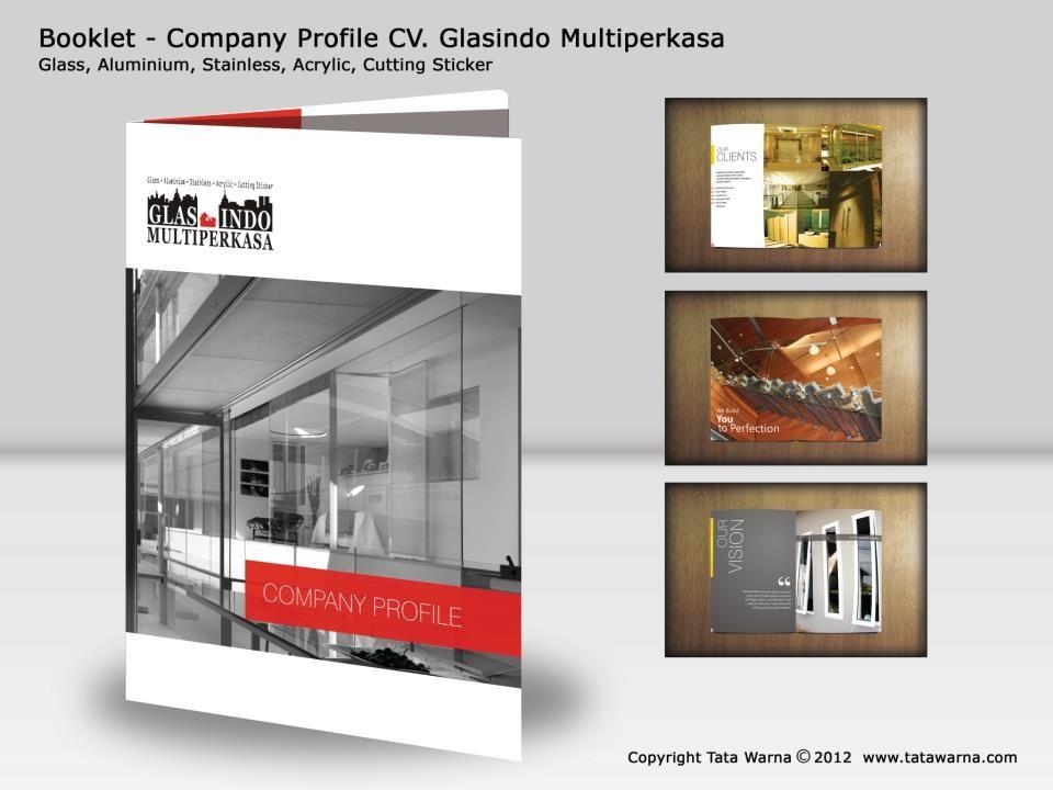 Pin by tatawarna ID on Booklet Company Profile Pinterest Company