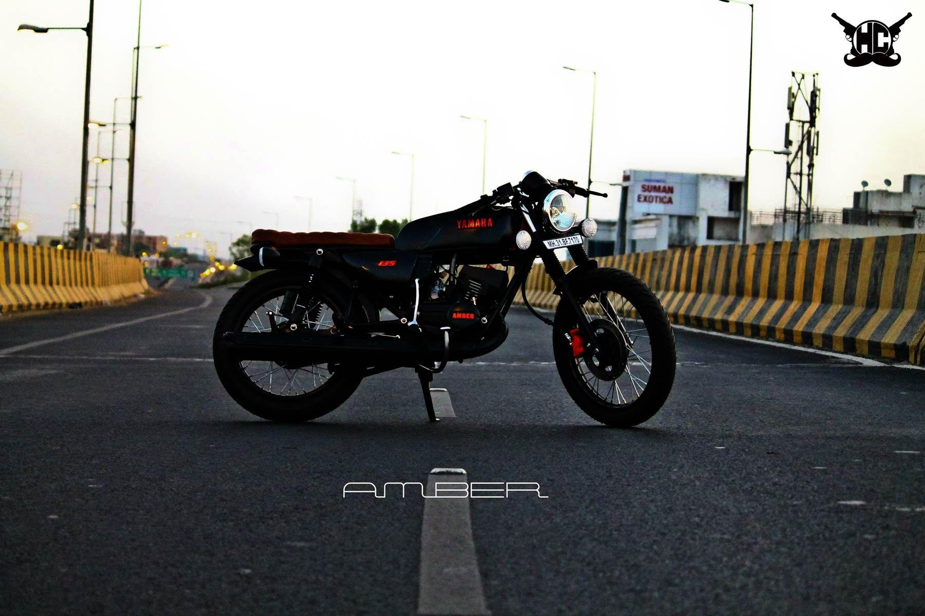 Modified Yamaha Rx135 Cafe Racer Hindustan Customs Nagpur Cafe