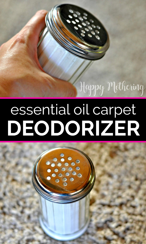 Essential Oil Carpet Deodorizer In 2020 Carpet Deodorizer Diy Cleaning Products Baking Soda On Carpet