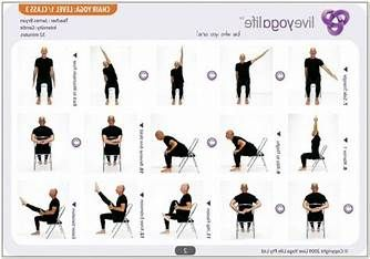 pinnatalie haskell on chair aerobics  yoga poses