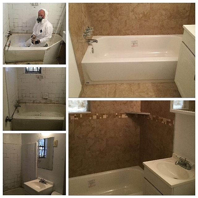 This was one of our toughest bath remodels.  Our technicians did a great job. #mrhandyman2889 #bathrooms #remodel #Jacksonville #handyman