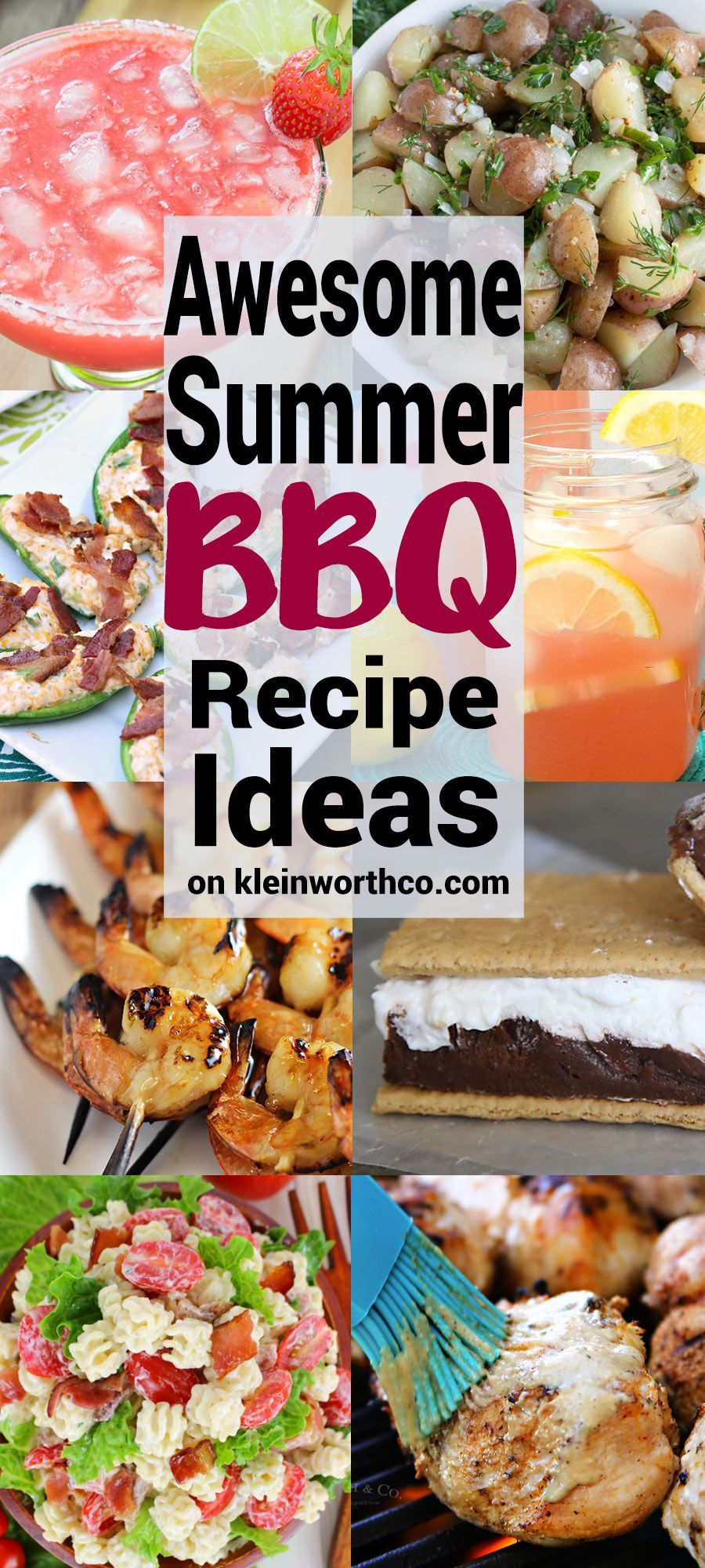 Awesome Summer Bbq Recipe Ideas To Have A Delicious Grill Out These Are The Must Have Recipes For Your Next Bbq Best Summer Bbq Recipes Bbq Recipes Bbq Menu