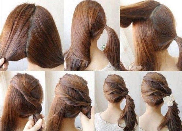 peinados faciles ideas rapidas Ideas para el hogar Pinterest