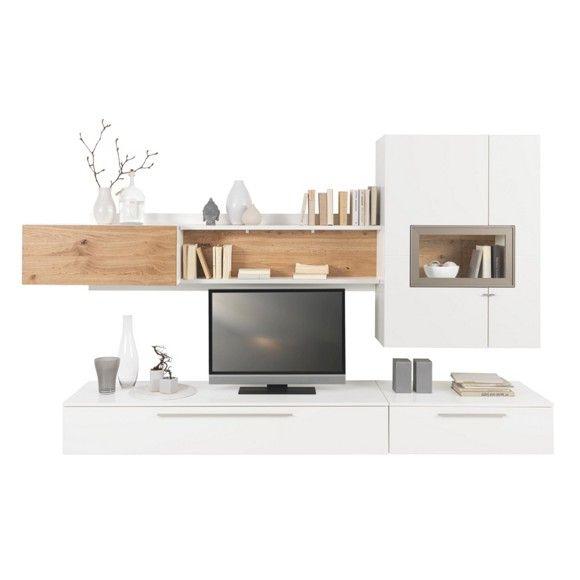 Elegante Wohnwand In Echtholz Setzen Sie Ein Design Statement