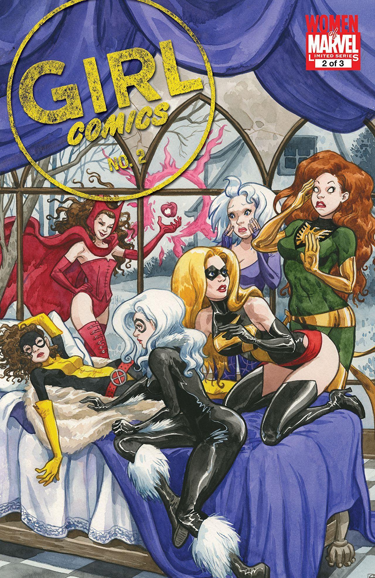 Girl Comics (2010) #2 (of 3) | February 14, 2018 - Digital
