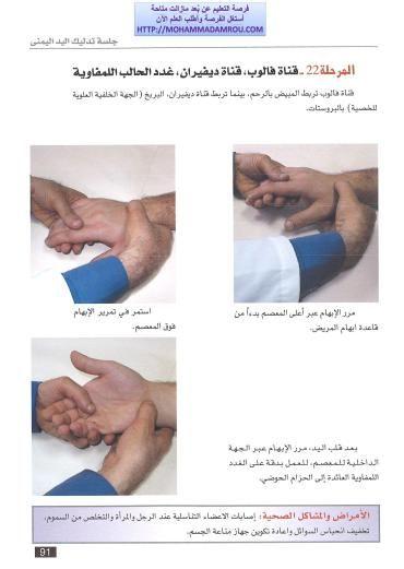 كتاب العلاج الشامل للجسم عبر تدليك اليدين والقدمين رفلكسولوجي Hands Holding Hands