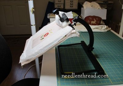 Needlework System 4 Table Lap Stand Review Needlework Framed Cross Stitch Hand Applique