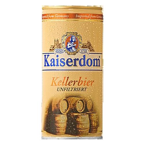 Bia Kaiserdom Kellerbier 4.7% - Lon 1000ml - Bia Đức Nhập Khẩu TPHCM