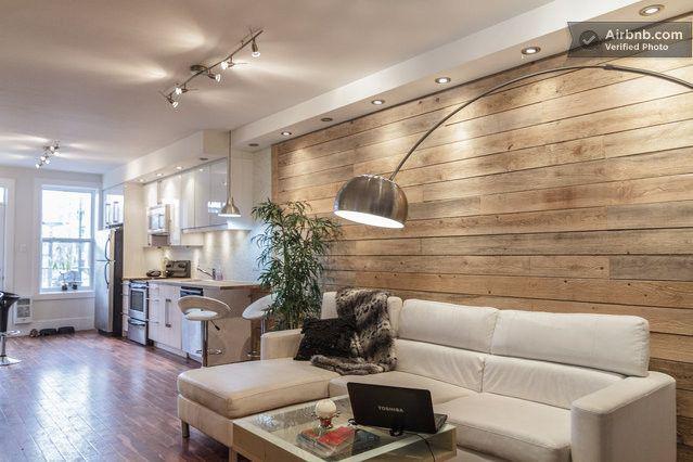 Airbnb : Un appartement cosy et moderne à louer à Montréal (Canada ...