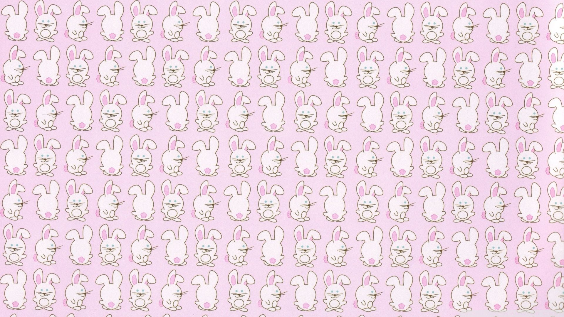 Cute Anime Bunnies Wallpaper
