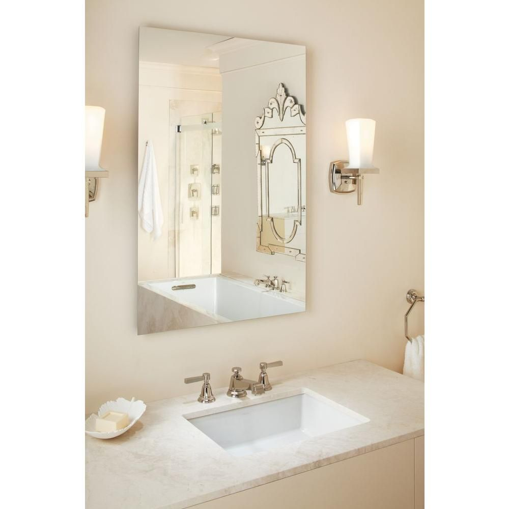 Kohler Verticyl Vitreous China Undermount Bathroom Sink In White With Overflow Drain K 2882 0 Bathroom Sink Bathroom Design Undermount Bathroom Sink