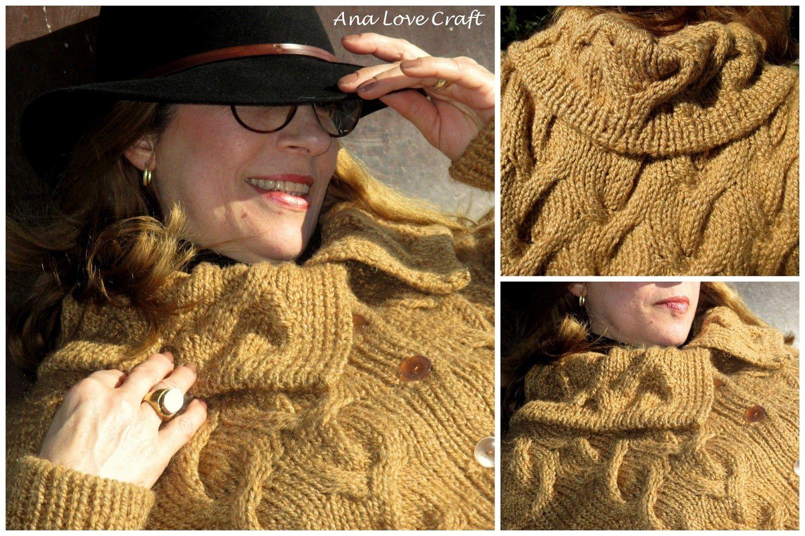 Ana Love Craft: CASACO, GOLA E O MEU GATO - WOOL COAT, SCARVE AND MY CAT