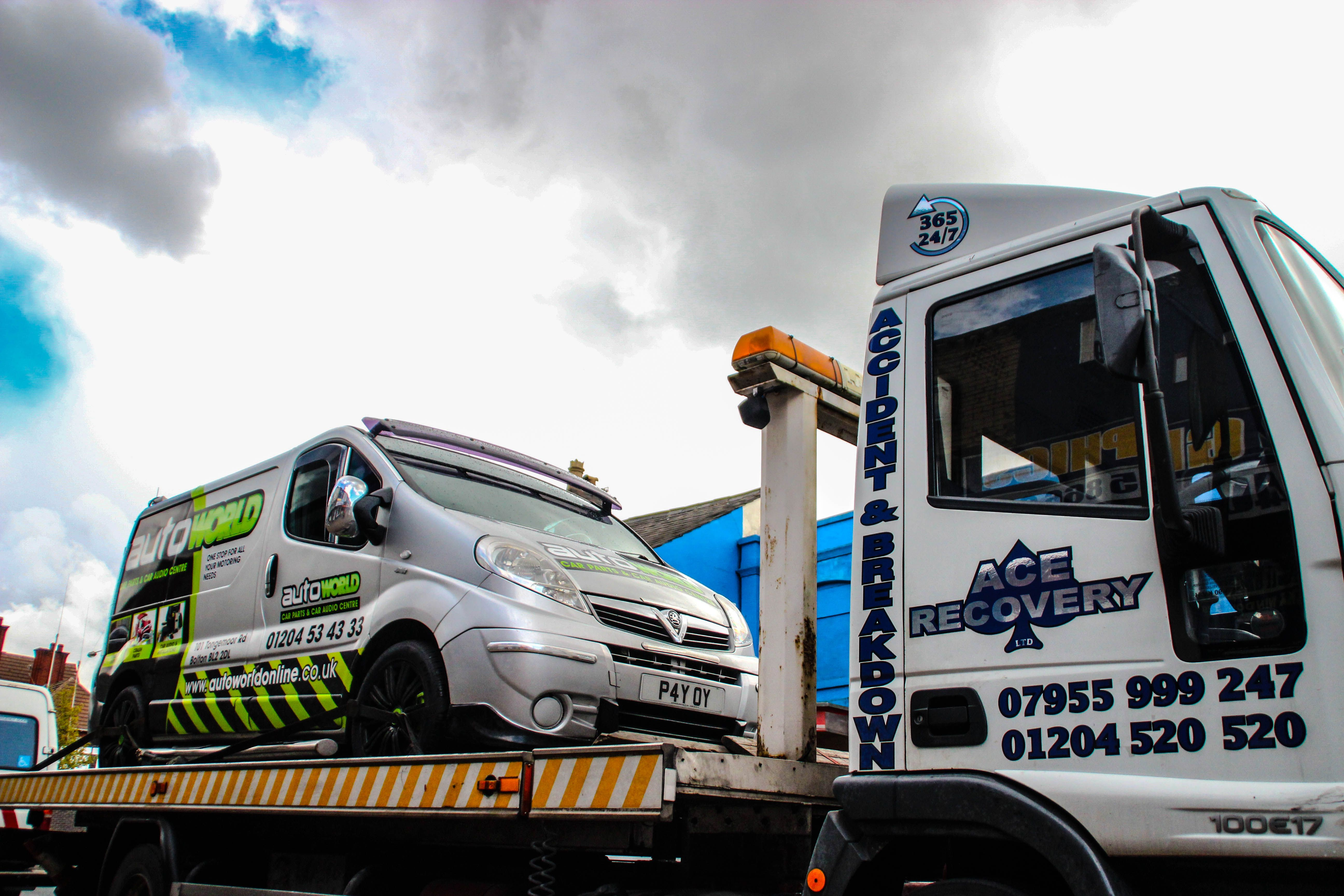 Vehicle Recovery Services in Manchester (With images