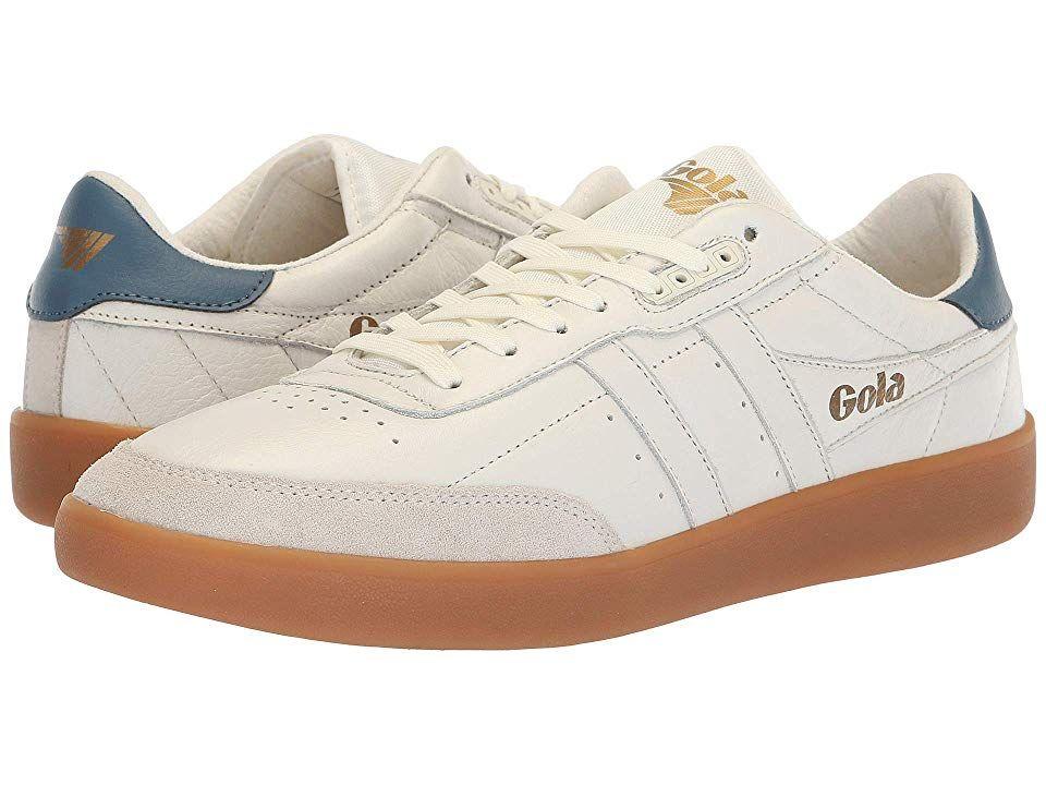 Gola Inca Leather (Off-White/Baltic/Gum