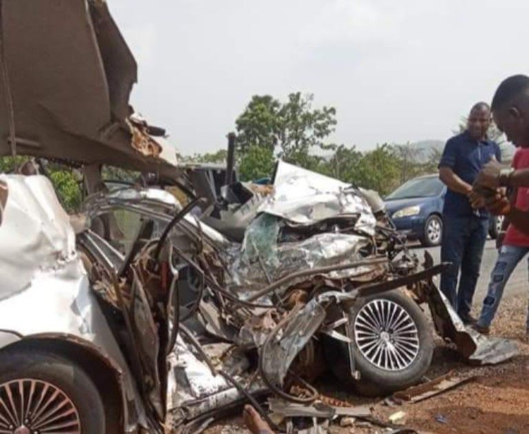 Two Corpers Killed In Fatal Road Accident Along Ajeokuta