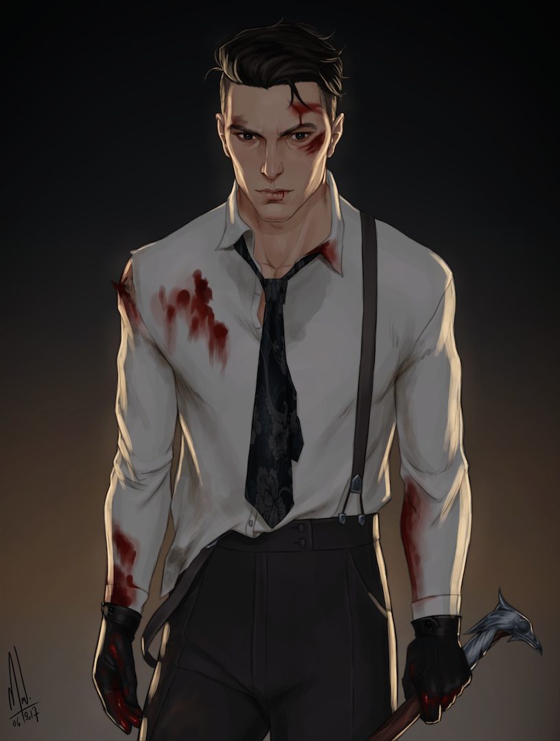 Image result for kaz brekker fanart
