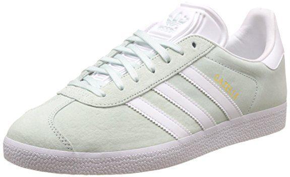 adidas Damen Gazelle Sneakers. Obermaterial: Leder Innenmaterial: Textil  Sohle: Gummi Verschluss: