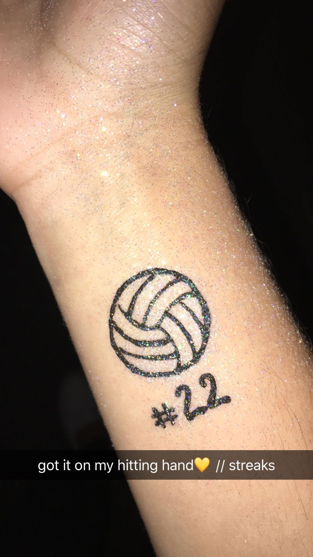 Volleyball Watercolor Tattoo Volleyball Tattoos Small Watercolor Tattoo Watercolor Tattoo Words