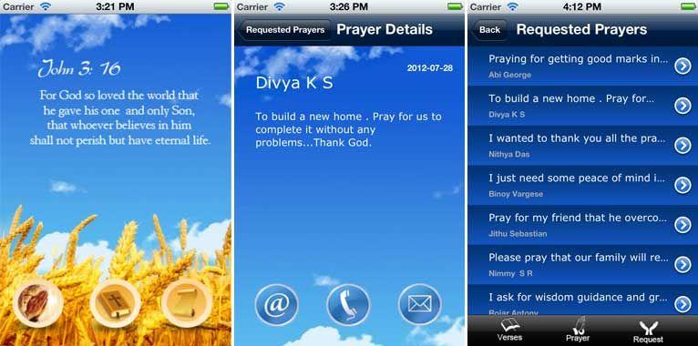 EuroPrayerApp. Prayer iPhone App, Prayer Request, Bible Verses.  More iPhone Apps Visit : http://euroinfotech.net/iphone_portfolio.html