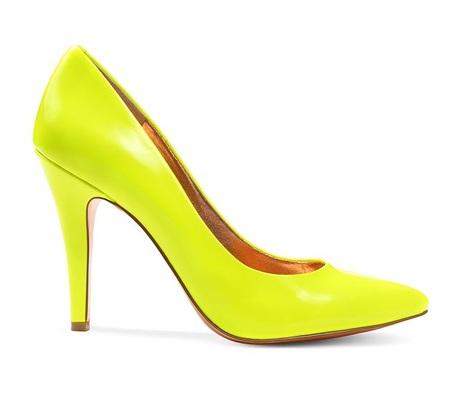 6c213e64cd68 Pump it up!  yellow  heel  BCBG  macys BUY NOW!