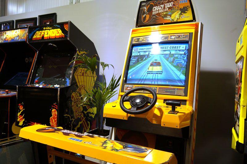 Crazy Taxi High Roller Arcade Machine Crazy Taxi High