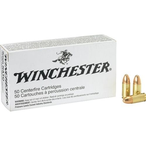 Over 100 cases of #Winchester 9mm Luger #NATO ammo available! Ready to ship today