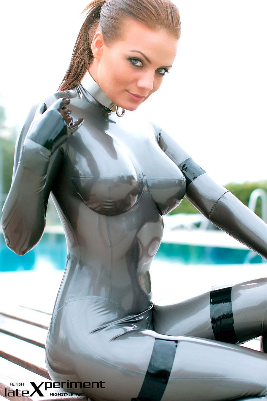 sexy rubber girl fetish