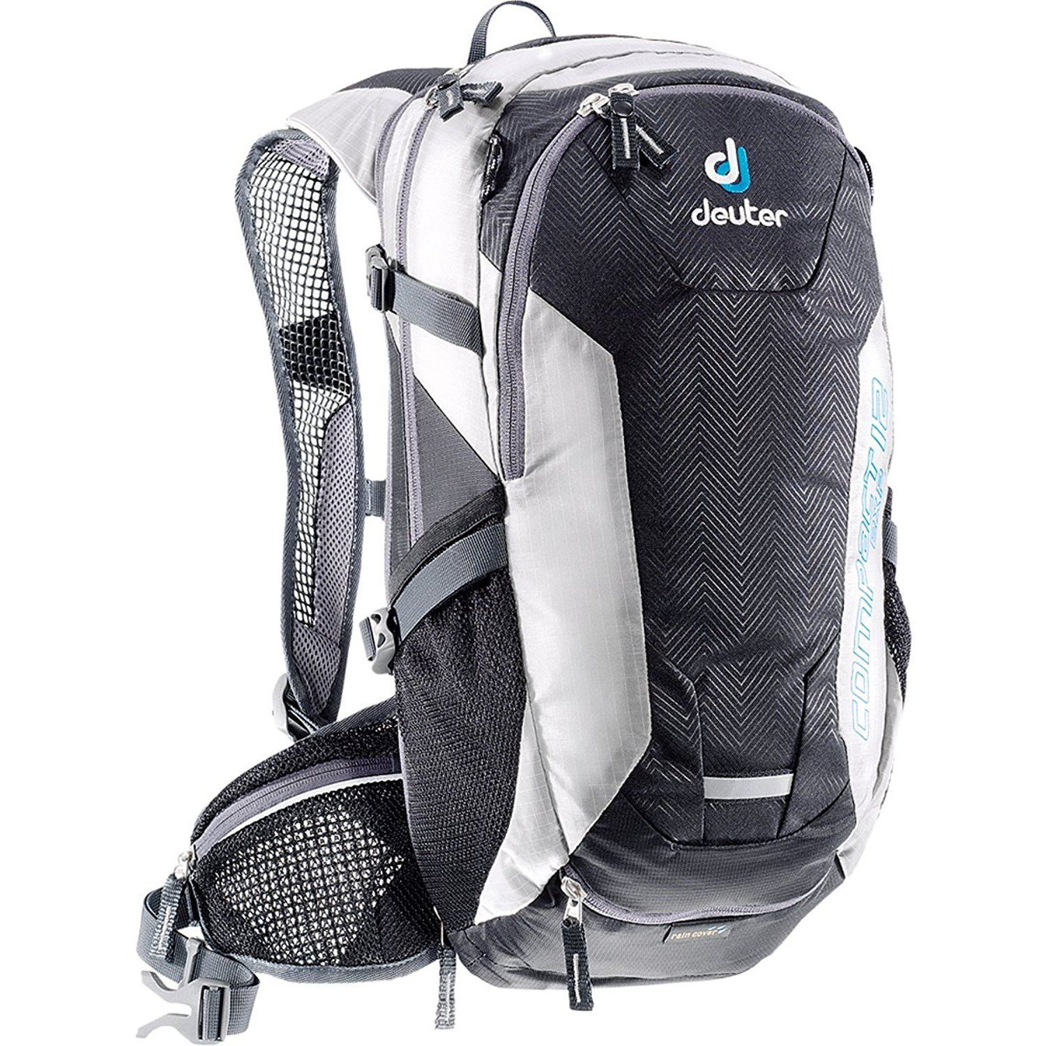 Deuter Compact Exp 12 Backpack, Black/White, 19X9.4X7.1 * Continue ...