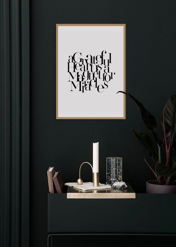 INSTANT INSPIRATIONAL WALL ART  Simply download print hang and feel good Enjoy the flexibility of downloading this design by NJOOYS in a multitude of sizes This A GRATEF...