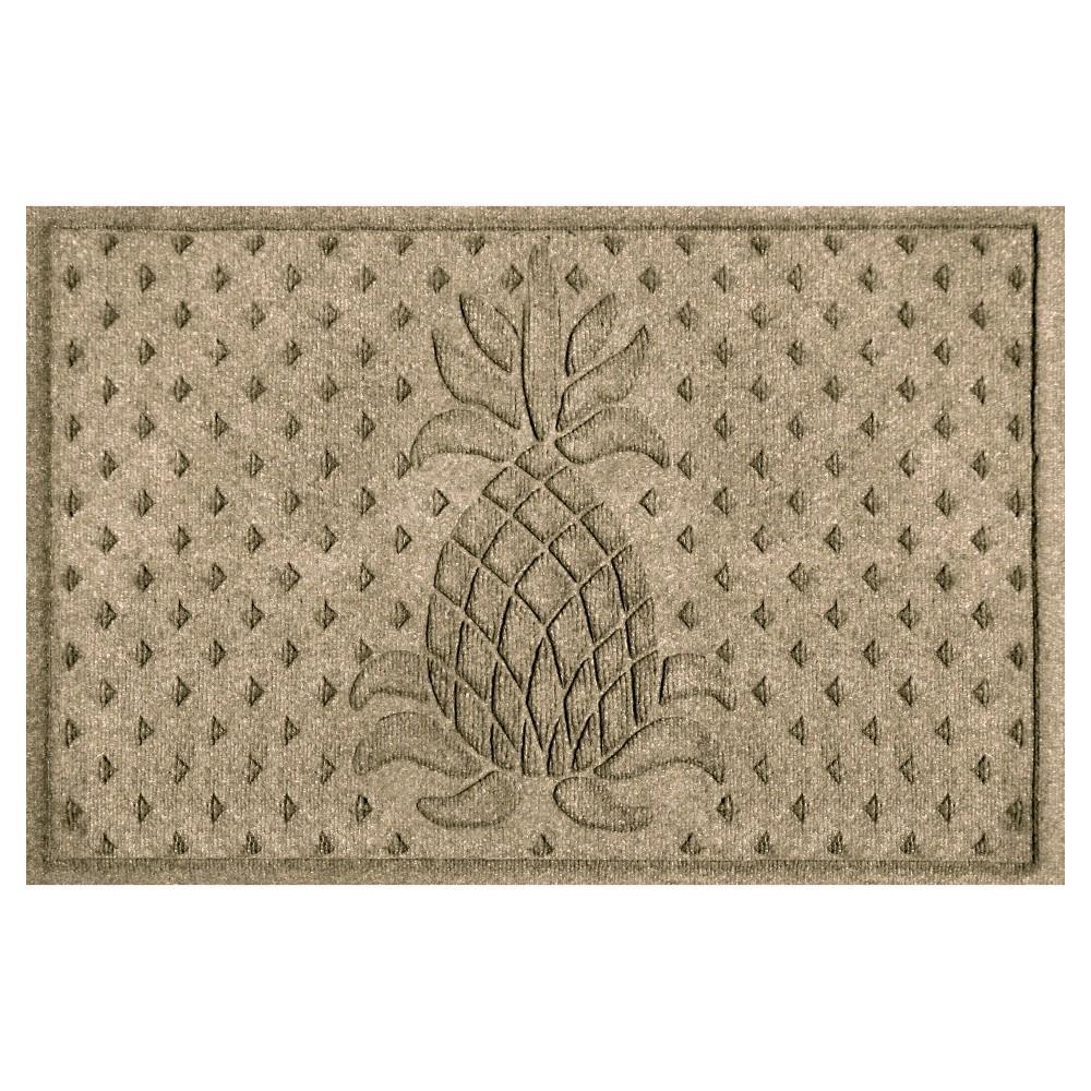 Bungalow Flooring Aqua Shield Diamonds Pineapple Floormat
