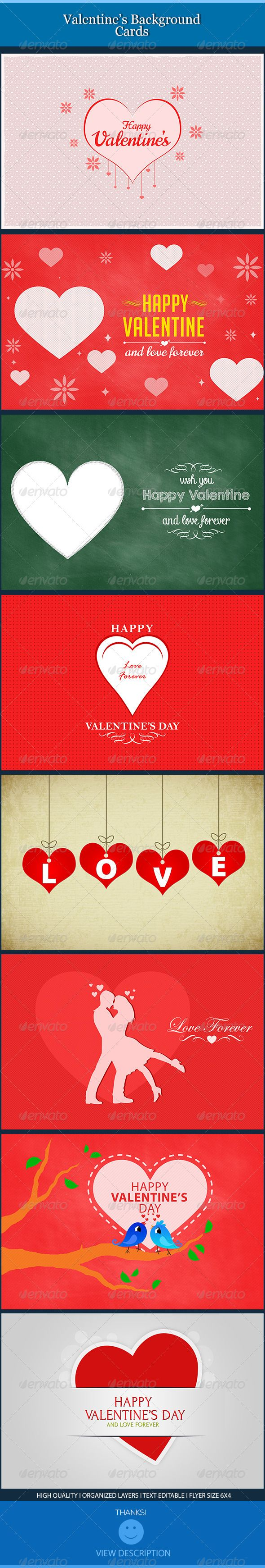 Valentine Backgrounds Cards This template is perfect for a Valentine ...
