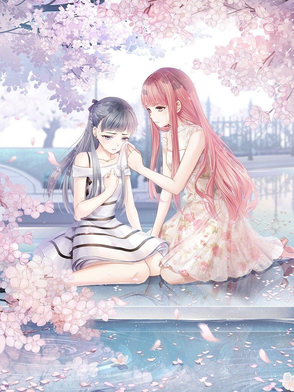 Pin Ot Polzovatelya Anime Lover Na Doske My Miracle Nikki Anime Devushka Krasivaya Anime Devushka Risunki Devushki