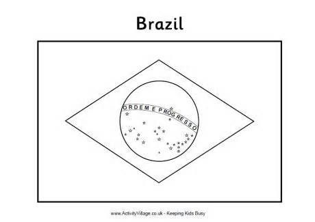 Brazil Flag Color Page Yahoo Image Search Results Flag