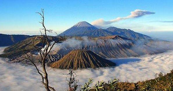 Pemandangan Alam Di Kota Malang Dengan Gambar Pemandangan Taman Nasional Pariwisata