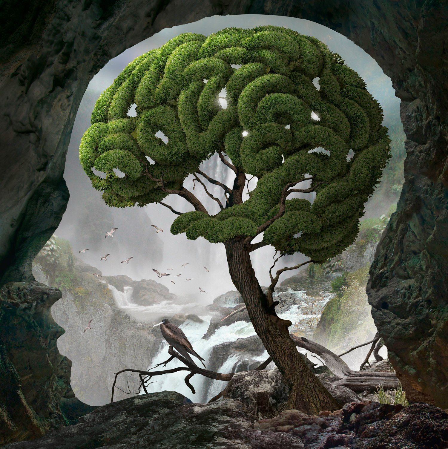 Igor Morski - New picture from Brain series | Trees | Pinterest