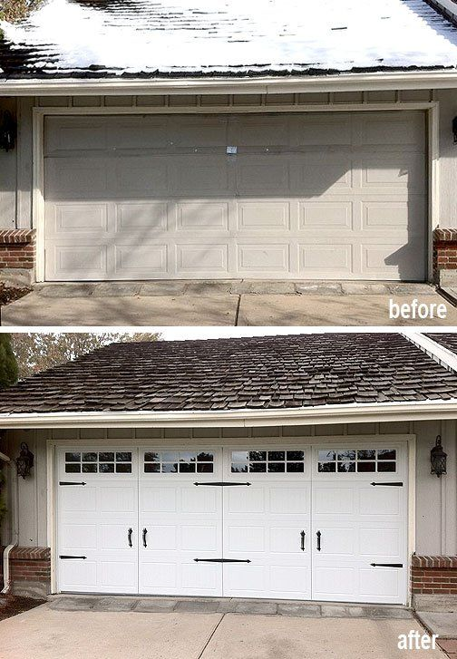 Transformation Of A Denver Garage Door With Images Garage
