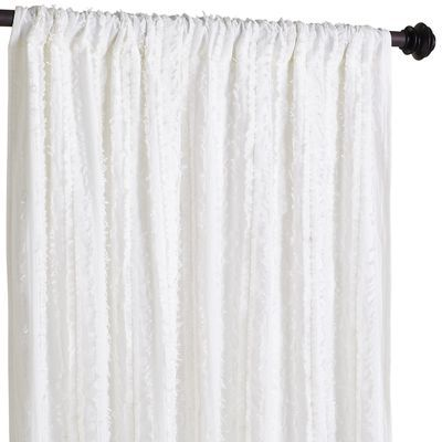 Pier1 Imports - Frills Curtain - White