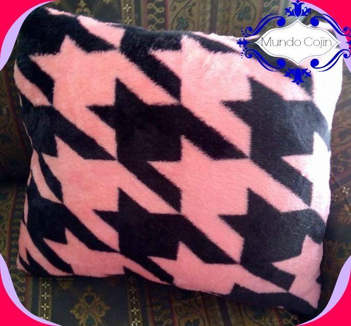 Cojin geométrico Geometric pillow elegant pillow