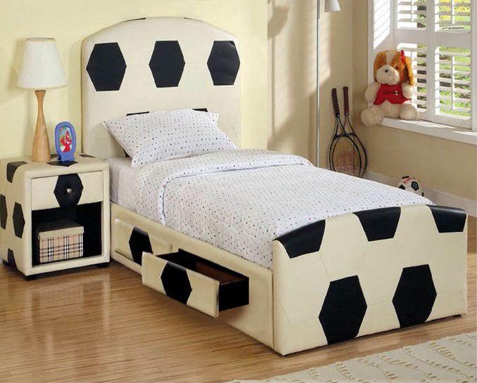 Beckham Storage Bed Bedroom Themes Soccer Themed Bedroom