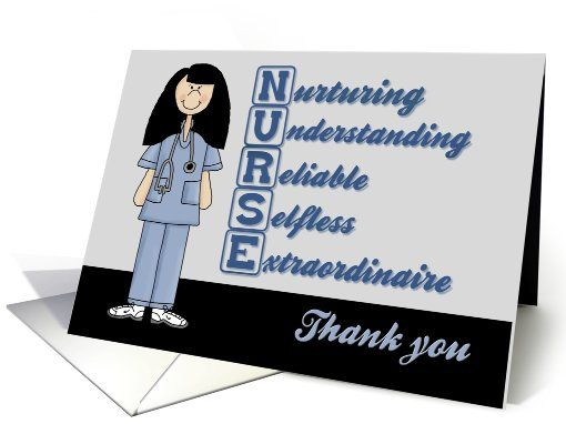 nurse acronym thank you