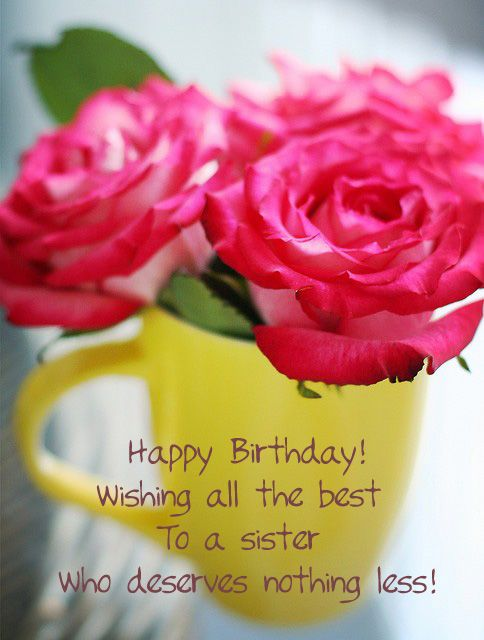 Free Birthday Cards – Birthday Cards for Sisters