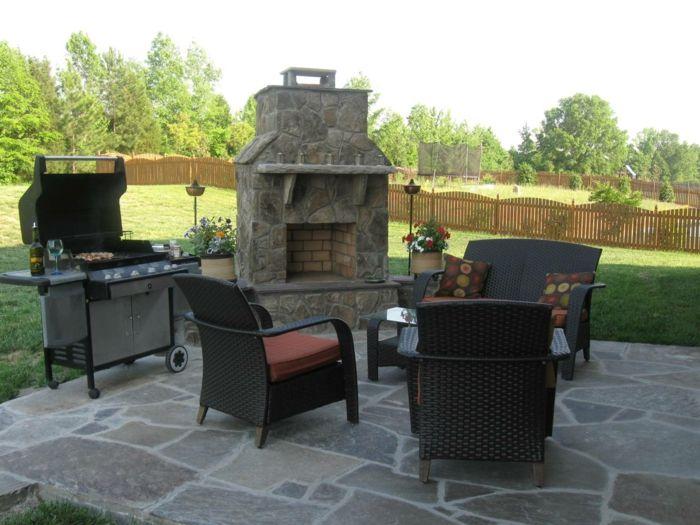 Design#5001568: Moderne gartengestaltung mit stei garten gestalten vorgarten .... Garten Mit Patio Gestalten