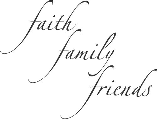 Image result for faith family friends