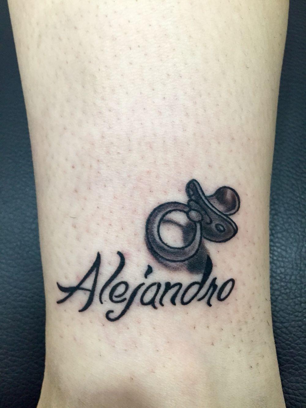 Nombre Chupete Tatuajes Mini Tatuajes Decoracion De Unas