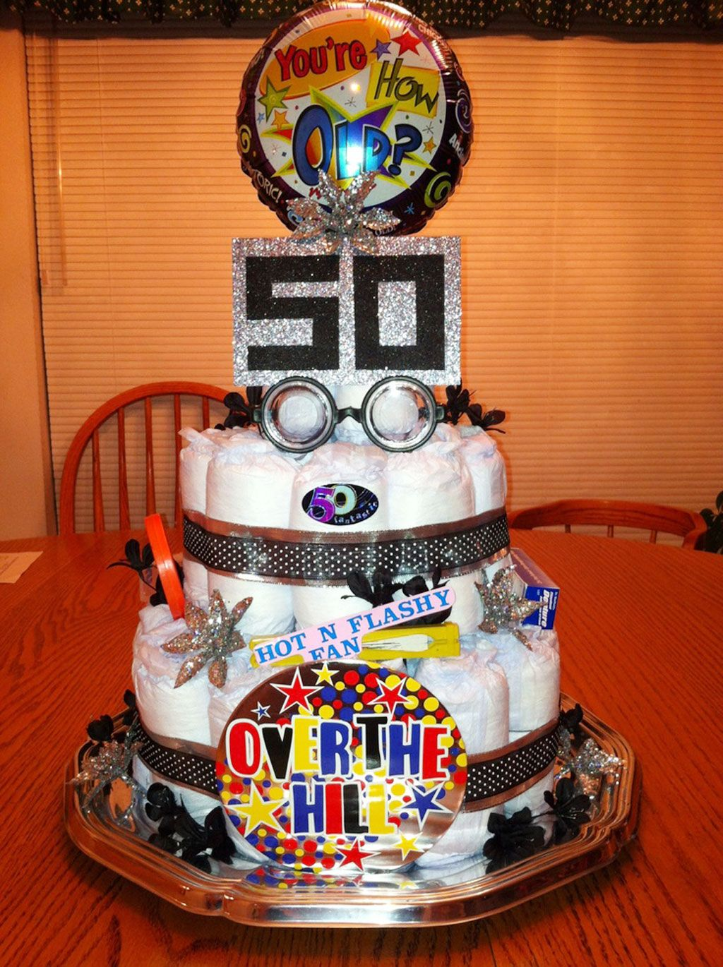 Image Result For Depends Cake  Surprise 50Th Birthday -9466