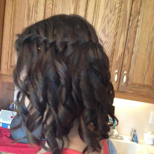 Did My Friend S Hair For A Wedding She Was Going To