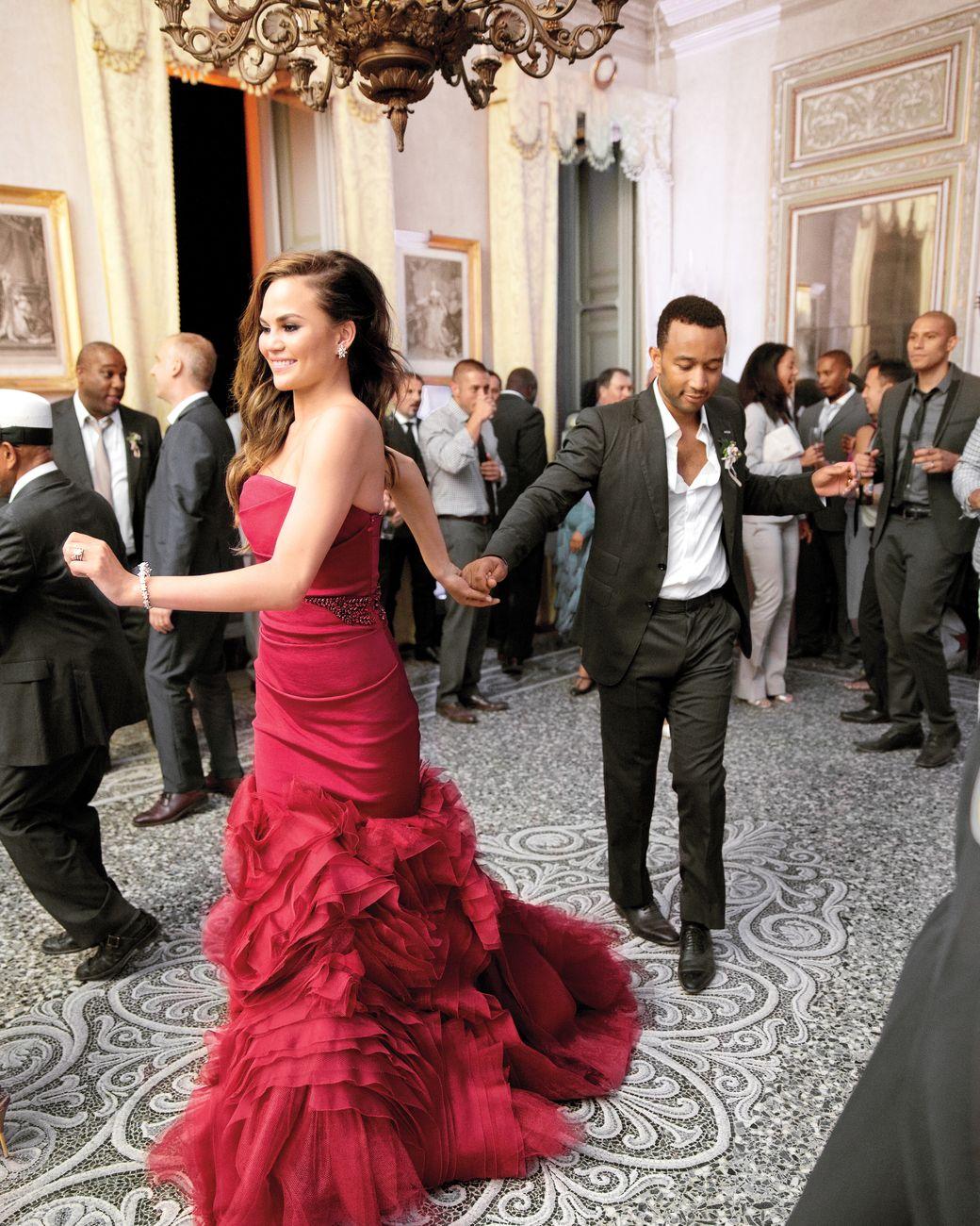 Chrissy Teigen Wedding Dress