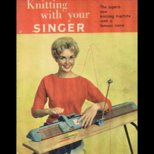 Singer MK1 Double Bed Knitting Machine Instruction Manual ...